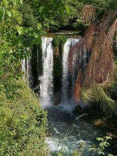 Düden waterfall, Antalya, Turkey