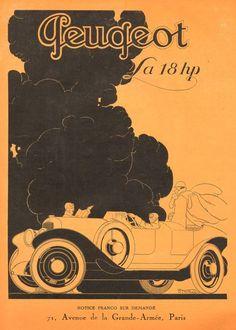 Automobiles Peugeot (1924) René Vincent.