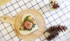 하루가 달고나_고구마케이크 | pi7pie153 | Vingle | 케이크,요리,베이킹,flowercake #flowercake #ricecake #muffins #food #dessert #flowercakeclass #cake #sweet #cafe #happybirthdaycake #baking #koreacake