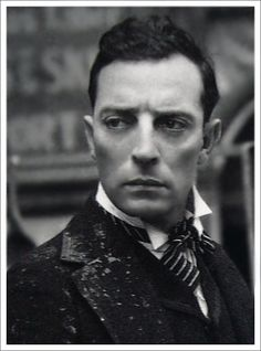 "Buster Keaton. ""One who never smiled, carried a face as still and sad as a daguerreotype through some of the most preposterously ingenious and visually satisfying comedy ever invented. That was Buster Keaton."" James Agee,"
