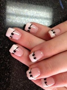 Cute Bow Nail Designs 27 Bow Nail Art When you are looking for inspirations on your nails, you will be amazed by the infinite ideas of . Bow Nail Designs, French Tip Nail Designs, Nails Design, Bow Design, Design Ideas, Design Trends, How To Do Nails, Fun Nails, Pretty Nails