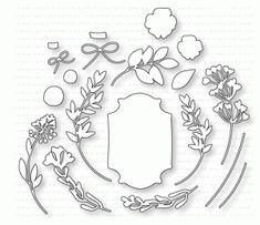 Papertrey Ink - Gathered Garden Die