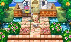 Animal Crossing Flower Design QR Codes
