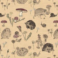 Martha Bowyer. The Chase hedgehog pattern.