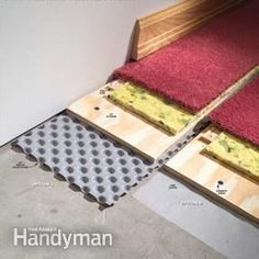 How to Carpet a Basement Floor = Vapor barriers for basement floors