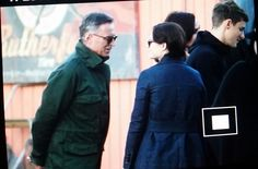 "Robert, Emilie and Giles - 6 * 11 ""Murder Most Foul"" - Behind the scenes - 2 November 2016"