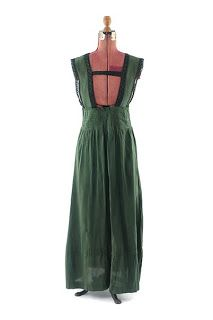 All The Pretty Dresses: Green Edwardian Jumper Dress