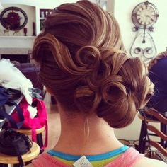 awesome brdial updo