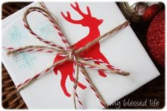 DIY wintery reindeer coasters to gift or keep for yourself!