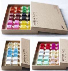 Originales packagings de chocolate, una selección con los diseños más novedosos…