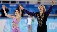 Meryl Davis, Charlie White win first-ever Olympic ice dance gold medal for the United States. Davis and White are from Detroit, Michigan. Meryl Davis, Winter Olympics 2014, Gold Medal Winners, Dance Program, Scott Moir, Billie Jean King, Home Sport, Ice Dance, Usa Today Sports