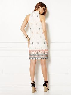 Eva Mendes Collection - Sabrina Embroidered Dress - New York & Company