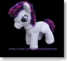 Cute amigurumi : Little pony crochet pattern | Little pony haakpatroon