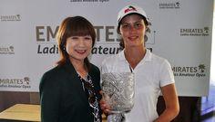 Anastasia Bakal the Emirates Ladies Amateur Open Champion Emirates Golf Club, New Golf, Uae, Anastasia, Golf Clubs, Champion, News, Fashion, Moda