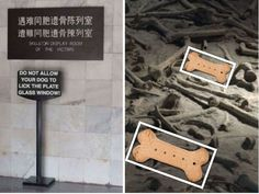 Fake Nanking Massacre bones!....maybe it is just me!....but some of these bones just do not look right!