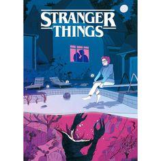 La série de science fiction Stranger Things j'attend la saison 2