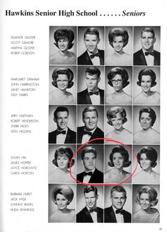 Hawkins Senior High School Seniors - Featuring James Hopper and Joyce Horowitz | Stranger Things