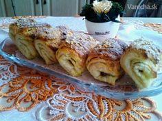 Kysnuté sadlové šatôčky s vanilkou a orechovým posypom (fotorecept) - Recept
