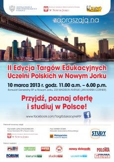 The second Fair of Polish Universities in New York