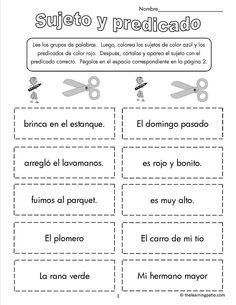 Actividades con sinonimos y antonimos para imprimir - Imagui | 4th ...