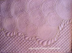 "Diane Gaudynski ""A New Tradition in Quilting"": Celtic Bubbles Part II ~ Variations"