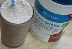 2 scoop chocolate protein powder 8 oz Milk of choice (Silk) 1 frozen banana   Blend better than a Frosty and under 400 cal