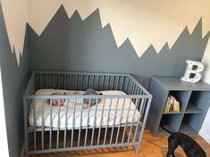"""🌸Linda on Instagram: """"Rommet tok bare 4mnd! Iallefall har han en seng, og en hylle😂 straks klar! Mangler bare interiør🙈  ________________________________…"""" Cribs, Furniture, Home Decor, Rome, Cots, Decoration Home, Bassinet, Room Decor, Baby Crib"""