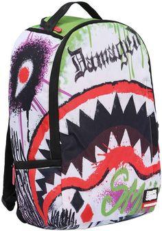 Dc Joker Shark Nylon Canvas Backpack Colorful Backpacks 00185b8c4f5db