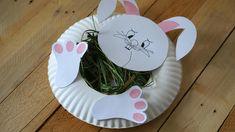 Šikovné ruce - Zajíc z papírových talířů III. Animal Crafts For Kids, Plate Crafts, Spring Crafts, Pet Shop, Origami, Goodies, Diy, Activities, Easter Activities