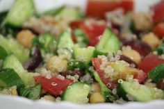 The Detox Diva | Corsican Quinoa Salad #quinoa #healthyrecipes #alkalinediet