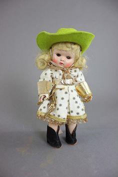Vintage 1952 Vogue Ginny Doll Frolicking by COLLECTORSCENTER