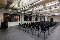 Oficinas de diseño fabril - Google Campus