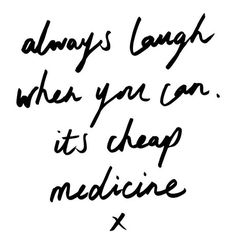 Just take a deep breath in and breath out, and have a good, long, hard laugh :) I love you! You're all so gorgeous! Have a beautiful day sunshines