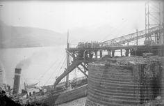 El cargadero en 1908
