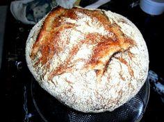Bakery No Knead Bread -Recipe Knead Bread Recipe, No Knead Bread, Strawberry Bread, Artisan Bread Recipes, Famous Recipe, No Calorie Snacks, Easy Bread, Bakery Recipes, Food Cravings