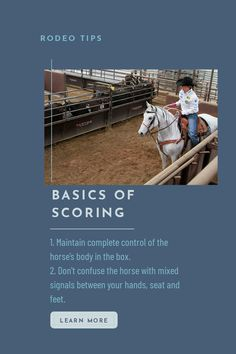 Team roping, breakaway roping, tie-down roping – every roper should score. Here some tips from the great Lari Dee Guy. Horse Training Tips, Horse Tips, Horse Barns, Horse Stalls, Trail Riding Horses, Horse Behavior, Anatole France, American Quarter Horse, Equestrian Problems