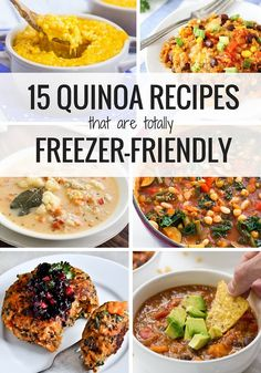 Whether you're trying to save time or need some inspiration for your winter meals, these healthy and delicious freezer-friendly quinoa recipes are perfect.