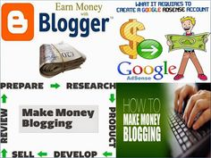 This post will give some simple steps to create blogger account and earn money from blogger