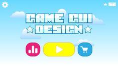 Adobe illustrator Game Gui, Game Ui Design, Adobe Illustrator Tutorials, User Interface Design, Mobile Game, Design Tutorials, Things That Bounce, Illustration, Illustrations