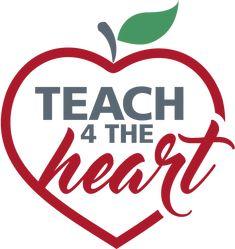 Teach 4 the Heart logo