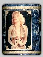 Marilyn Monroe Pencil cup. Year? By Watsons
