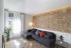 Con puertas y ventanas pintadas ... ¡Una chulada de 100 metros en Barcelona!
