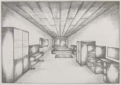 one point perspective drawing  - Google Search
