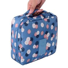 Leoy88 Travel Cosmetic Makeup Toiletry Case Bag Wash Organizer Storage Pouch Handbag >>> Click on the image for additional details.