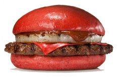 The Aka Samurai from Burger King Japan. There's also a version with chicken.