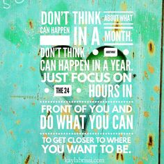 We all have the same 24 hrs focus on what matters! What you think about you bring about.  Double tap if you agree!