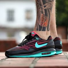Nike Air Max Lunar 1 Jacquard - Cedar/Hyper Jade (by Run Colors)