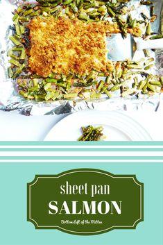 Sheet Pan Salmon   B