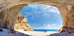 Seychelles: See ratings for Seychelles beach and other beaches at Ikaria. Compare Ikaria to other Greek islands. Most Beautiful Beaches, Beautiful Places, Ikaria Greece, Places To Travel, Places To See, Seychelles Beach, Popular Holiday Destinations, Places In Greece, Secluded Beach