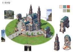 GGSCHOOL, Artist 이 현, Student Portfolio for game, 2D Scene Concept Art, www.ggschool.co.kr